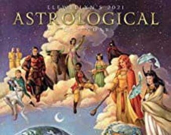 2021 Astrological Calendar by Llewellyn, Horoscope Zodiac 2021 Calendar