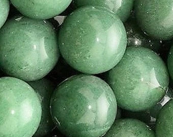 40mm Aventurine Gemstone Sphere, Polished Green Aventurine Crystal Ball, Green Crystal Ball, Mineral Specimen Rock Crystal Healing Gems