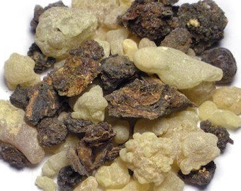 1lb Bulk Frankincense and Myrrh Gum Resin, 1 Pound Bulk Frankincense Myrrh , Granular Bulk Wholesale Resin, Frankincense Myrrh Resin 1lb