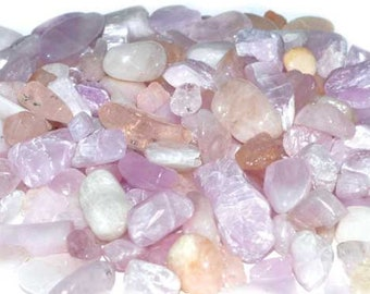 Bulk 1lb Mini 5-9mm Pink Peach Morganite Gemstone Chips, Small Polished Chips, Undrilled Gem Chips, 1 Pound Mini Gravel Chips Crystal Stones