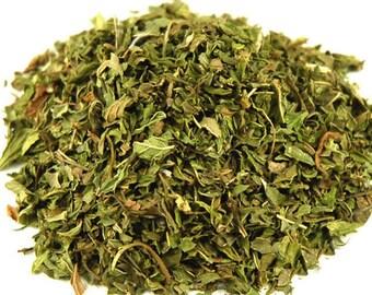 1lb Bulk Spearmint Cut Dried, Wholesale Spearmint Herb Cut, Loose 1 Pound Dried Spearmint Cut Herb, Wholesale Dried Spearmint Leaf Herb Bulk