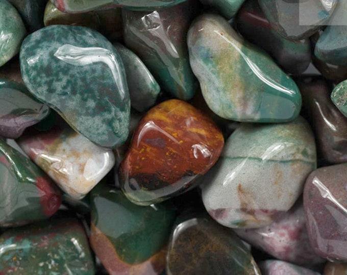 Bulk 1lb Tumbled Fancy Jasper Gemstones, Bulk Wholesale Jasper Tumbled Stones, Tumbled Jasper Gemstones Lot, Bulk Crystals, Bulk Gemstones