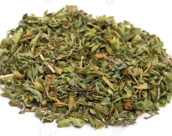 1lb Bulk Lemon Balm Cut Dried, Wholesale Lemon Balm Cut Herb, Loose 16 Ounce Dried Herbs, Wholesale Dried Lemongrass Cut Leaf Herb Bulk 16oz