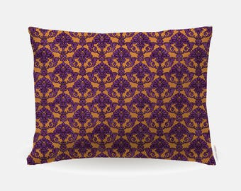 Boho Pattern Pillowcase, Standard Pillowcase 30x20in, Bohemian Standard Bedding Bed Pillow Case, Home Furnishings, Pillow Polyester Case