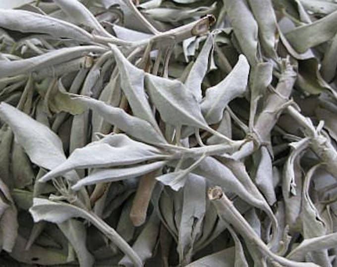 1lb White Sage Loose Dried Leaf, California White Sage Smudge Supplies, Sage Leaf 1 Pound, Sage Smudge Bundle, Smudge Supplies, Sage Leaf