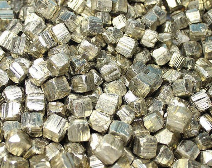 Bulk 1lb Pyrite Cubes Gemstones, Bulk Wholesale Pyrite Cube Crystals Stones, Gold Pyrite Rough Cube Gemstones, Bulk Crystals, Bulk Gemstones