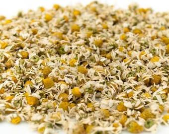 1lb Chamomile Flower Dried Cut, Chamomile Dried 1 Pound Cut, Bulk Wholesale Dried Chamomile, Chamomile Flower 1lb (egyptian) (Matricaria)