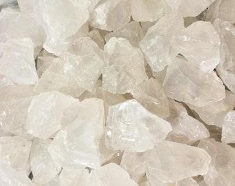 Bulk 1/2lb Rough Girasol Opal Gemstones, Wholesale Pale Pink Opal Quartz Crystals Stones, Rough Gemstones, Healing Meditation Crystals