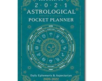 2021 Astrological Pocket Planner by Llewellyn, Moon Cycles Sun Signs Planner