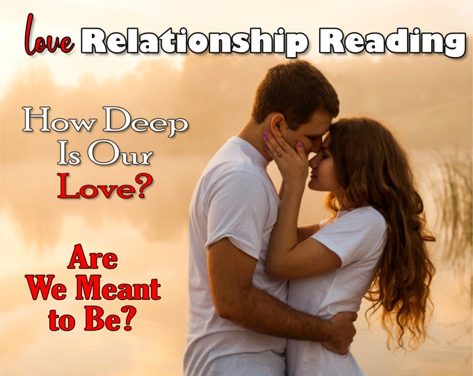 LOVE RELATIONSHIP Psychic Reading, Everything You Need to Know, Professional Detailed, 20+ Yrs Experience, Romantic Love Partnership