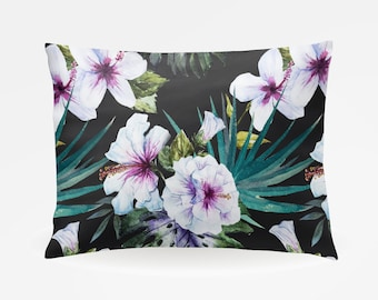 Floral Flowers Pillowcase, Standard Pillowcase 30x20in, Bohemian Boho Standard Bedding Pillow Case, Home Furnishings, Boho Bedroom Decor