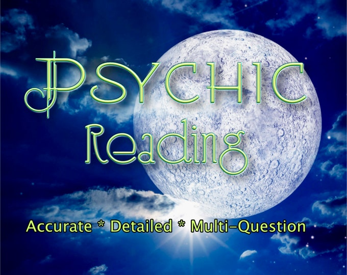 MULTI QUESTION PSYCHIC Reading, Professional Detailed, 20+ Yrs Experience, Love Family Finance Job Career Psychic Reading, Intuitive Reading