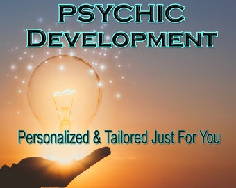 PSYCHIC DEVELOPMENT, Learn Effective Psychic Techniques, Psychic Classes, Professional, Detailed, 20+ Years Experience, Intuitive Reading,