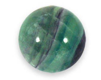 40mm Rainbow Fluorite Sphere, Fluorite Crystal Ball, Green Blue Purple Crystal Ball, Healing Meditation Gemstone Sphere, Mineral Specimen