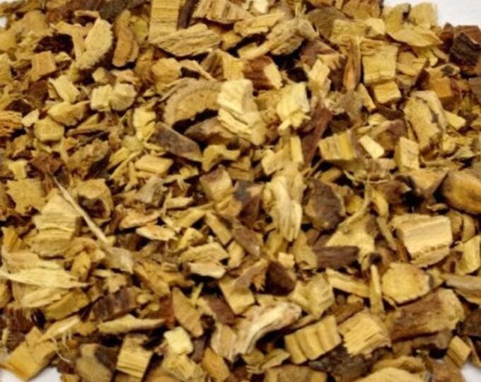 1lb Bulk Licorice Root Cut, 16 Ounce Cut Dried Licorice Root Bark cut (Glycyrrhiza glabra), Loose Dried Bark Root Herbs Curios, Bulk Herbs