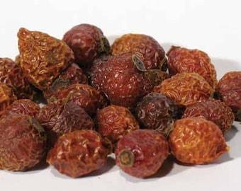 1lb Bulk Whole Rose Hips Dried, Wholesale Dried Bulk Rose Hips, Loose 1 Pound Whole Dried Rose Hips, Dried Herbs Bulk