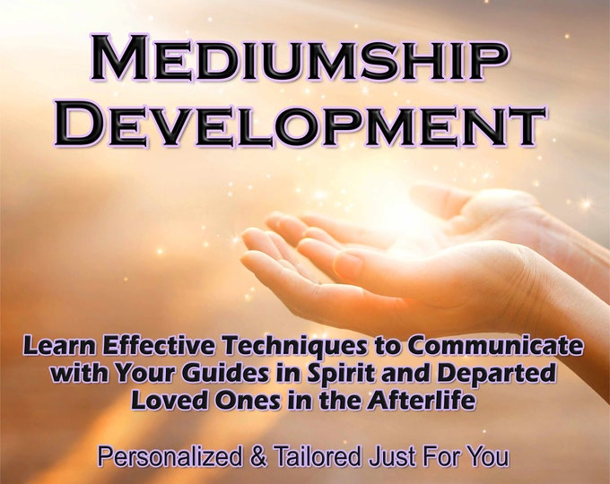 MEDIUMSHIP DEVELOPMENT, Learn How to Communication with the Other Side, Professional, Detailed, 20+ Years Experience, Mediumship Classes