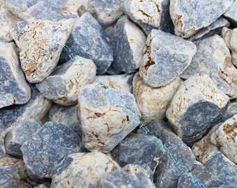 Bulk 1lb Blue Angelite Celestite Gemstones, Bulk Wholesale Rough Rocks Stones, Rough Bulk Angelite Gemstones, Bulk Crystals, Bulk Gemstones