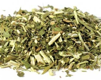 1lb Blue Vervain Dried Cut, Verbena Hastata Vervain Herb Dried 16 Ounce Cut, Bulk Wholesale Dried Cut Herbs, Curios Food Drink Dried Herbs