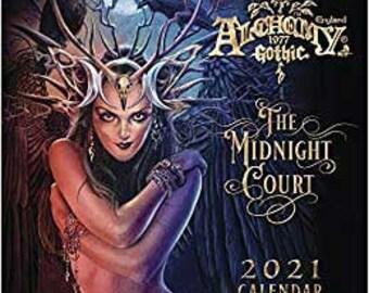 2021 Alchemy Gothic Calendar by Llewellyn, The Midnight Court Calendar