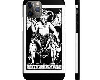 Case Mate Tough Phone Case, iPhone Samsung Phone Cover, Wicca Occult Tarot Card Phone Case, iPhone 11/11 Pro, Samsung, iPhone XR XS