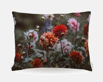 Floral Flowers Pillowcase, Standard Pillowcase 30x20in, Bohemian Standard Bedding Pillow Case, Home Furnishings, Pillow Polyester Case