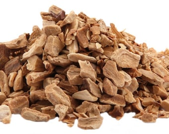 1lb Bulk Orris Root Cut Dried, Orris Root Herb, Bulk Wholesale (Iris germanica var.florentina) Root, 1 Pound Cut Dried Smudge Incense