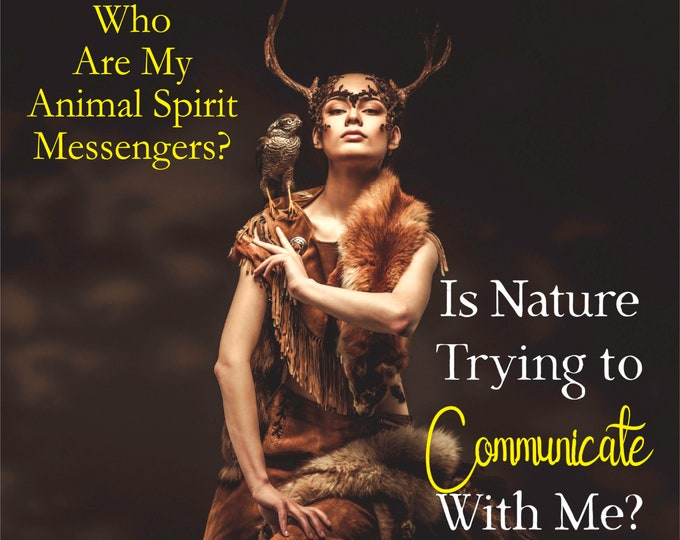 ANIMAL SPIRIT MESSENGER Reading, Animal Totem Reading, Professional, Detailed, 20+ Years Experience, Psychic Medium Intuitive Reading