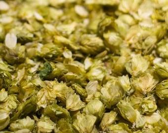 1lb Hops Flower Dried Cut, Hops Dried 1 Pound Cut, Bulk Wholesale Dried Hops Flower, Hops Flowers Whole 16oz (Humulus lupulus)