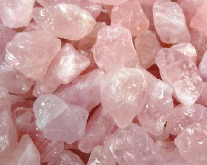Bulk 1lb Raw Pink Rose Quartz Gemstones, Bulk Wholesale Rose Quartz Rough Crystals Stones, Pink Rough Gems, Bulk Crystals, Bulk Gemstones