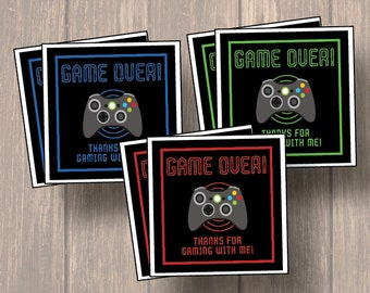 Video Game Party Favors Etsy Uk