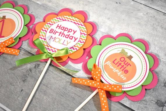 Pumpkin Birthday Party