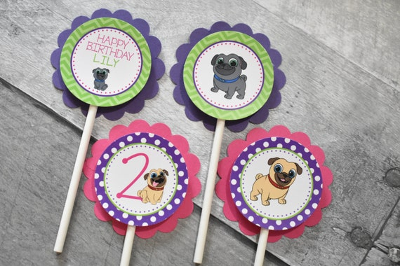 Puppy Dog Pals Cupcake Toppers 12 Pal Birthday Party