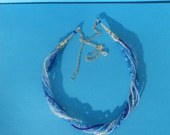 """Necklace """"the big blue"""""""