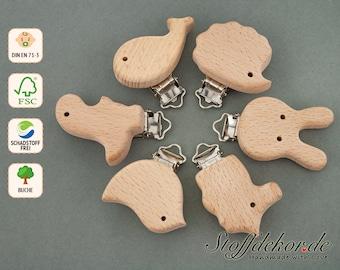 Wooden clip pacifier clip baby clip pacifier chain clip clip for baby chain car chain bite chain chain buggy maxi-cosi pendant