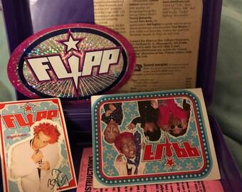 Vintage Minneapolis-based rock band Flipp Minnesota memorabilia lunch box