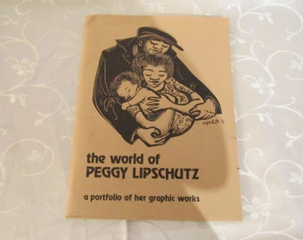 The World of Peggy Lipshultz Signed Art Portfolio
