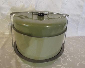 Vintage Cake Carrier - 5 Piece