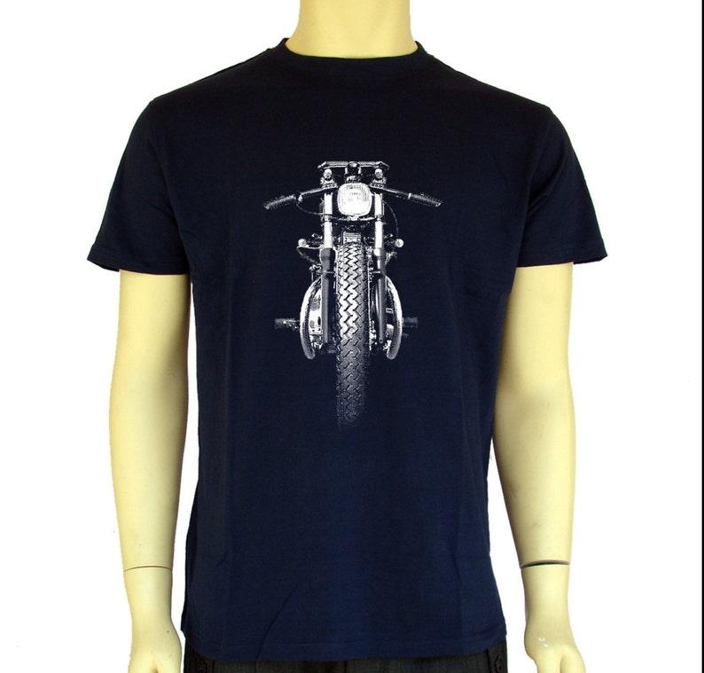 58f3cbb33 Harley Davidson-retro motorcycle Shirt Men T shirt Biker   Etsy
