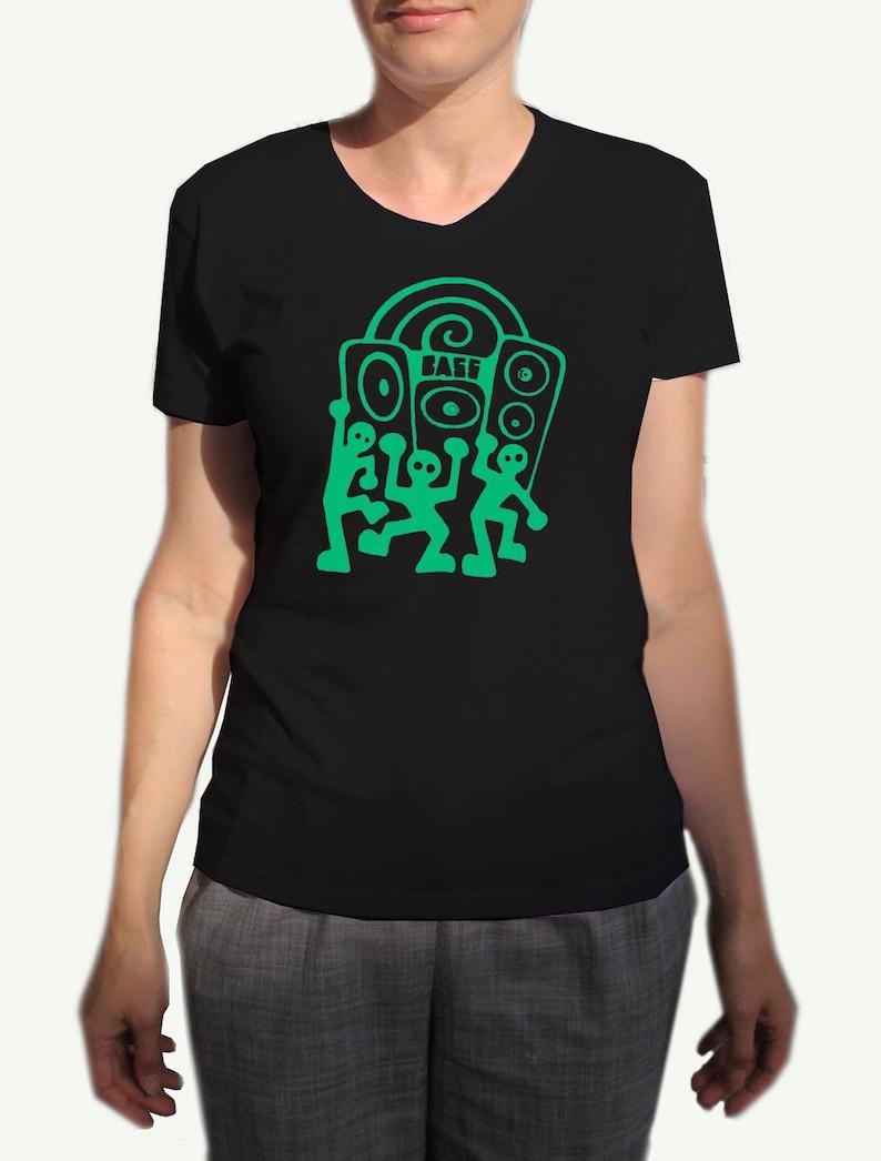 37dbea2b94 Bass Culture T Shirt Reggae Dub Sound System Rhythm Sub Woofer | Etsy