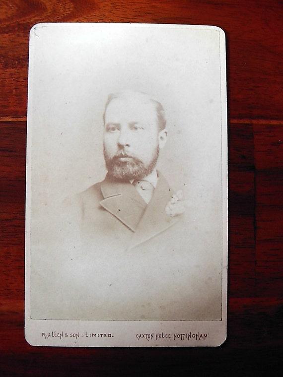 Carte De Visite Portrait Of Man