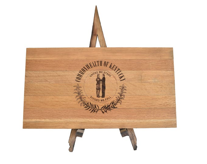 Kentucky State Bourbon Barrel Flag