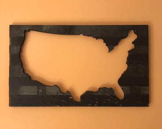 United States of Whiskey Barrel Cut Out (Reverse)