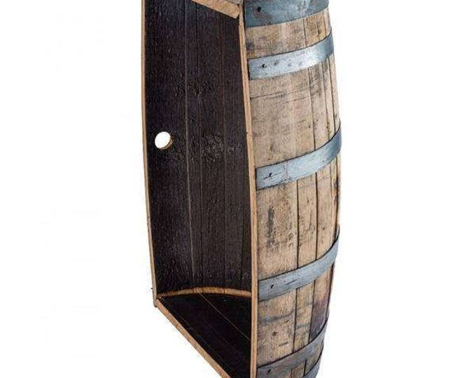 Half A Whiskey Barrel