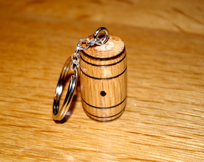 Whiskey Barrel Key Chain