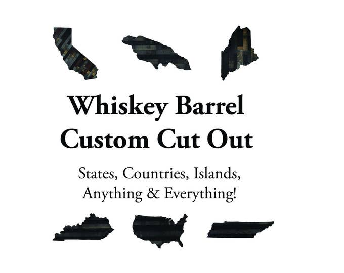 Whiskey Barrel Custom Cut Out