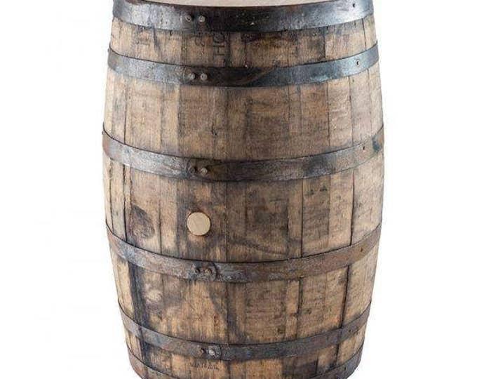 Whole Whiskey Barrel