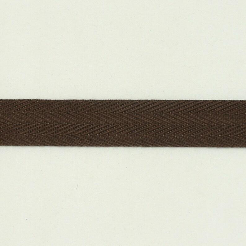 5 Yards of Bistre Color 15mm (5/8