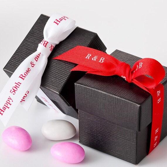 Personalized Textured Ribbon Printed Ribbon Favor Ribbon Etsy