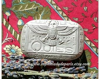 1930 French Ear Plug Tin Box Paris Quies Condor Aluminium Box Collectible #sophieladydeparis